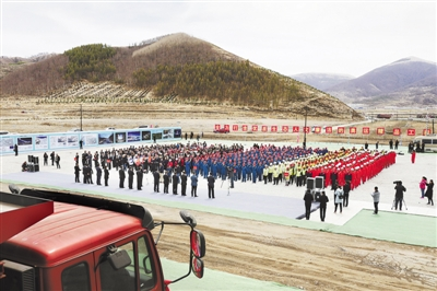北京冬奥会张家口赛区34个项目复工开工